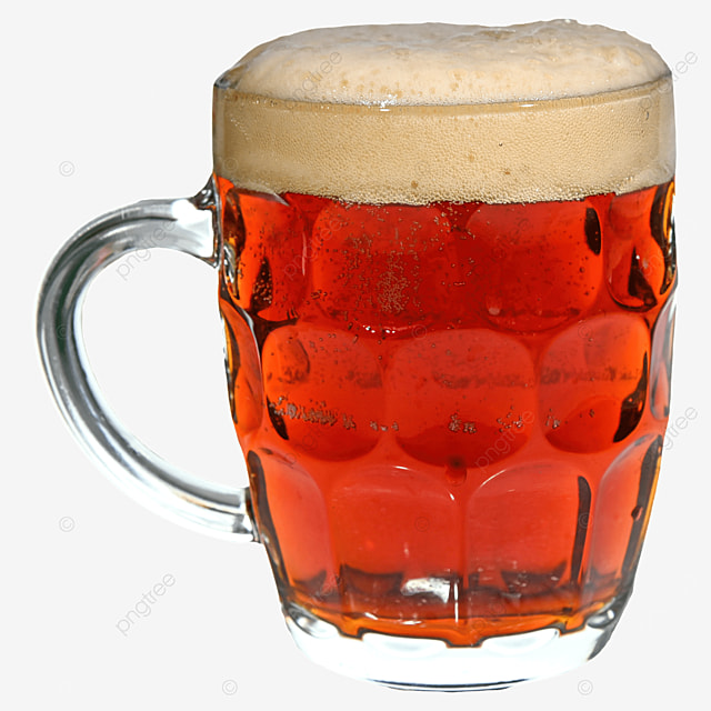 beer brown drink glass