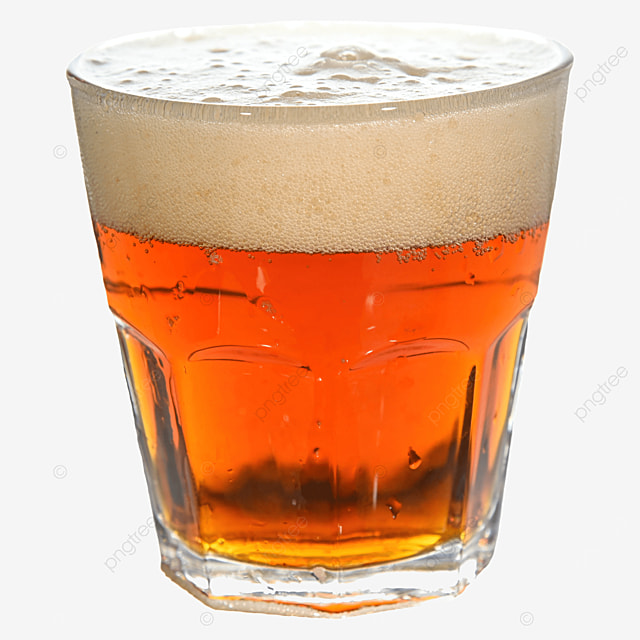 beer glass brown drink