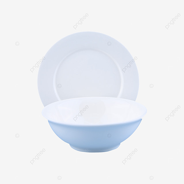 blank and fragile circular tableware
