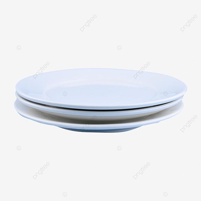 blank fragile circular tableware