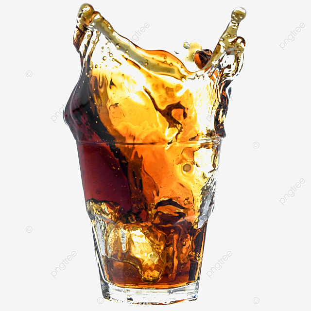 brown beverage glass cup cola