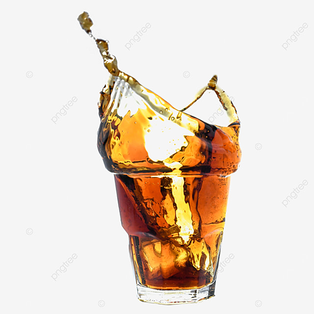 brown drink cola glass