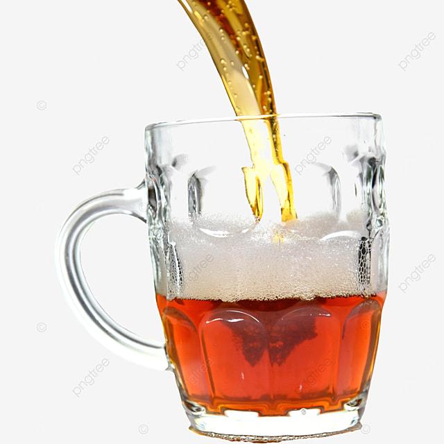 brown glass drink beer