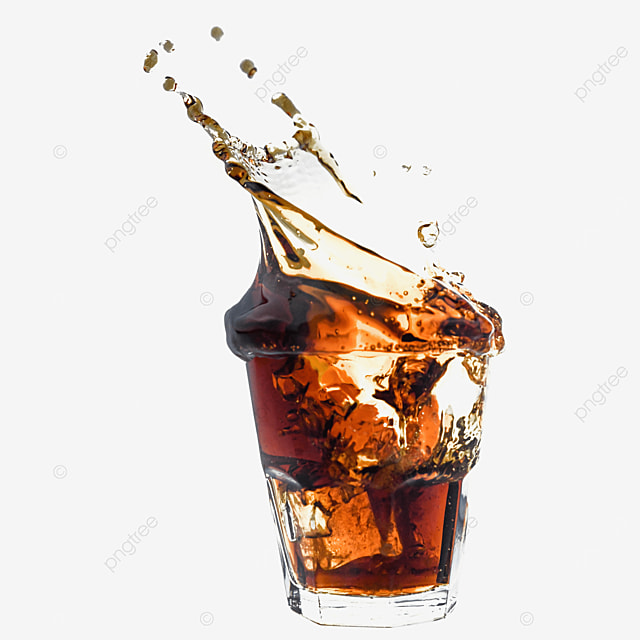 coke glass brown drink