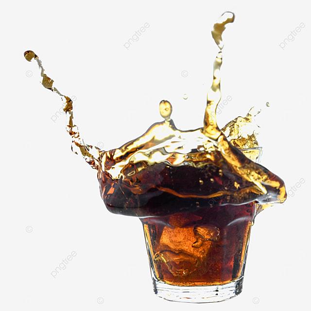 coke glass drink brown