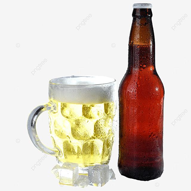 glass beer beer bottle drink