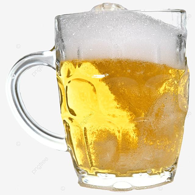 glass beer brown drink