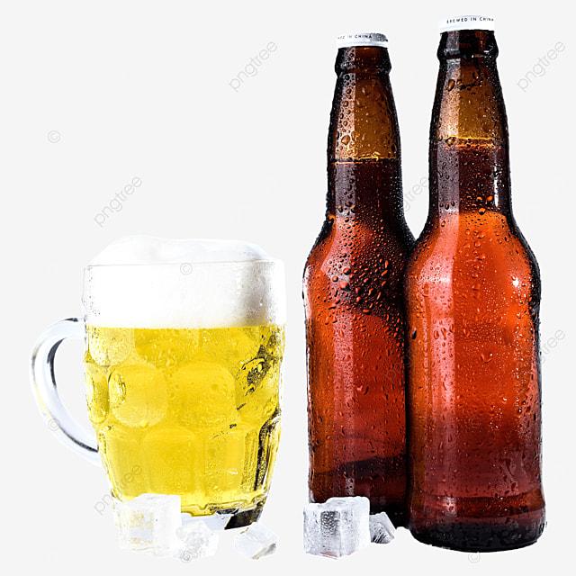 glass beer drink beer bottle