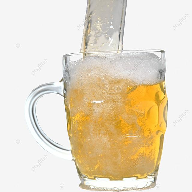 glass beer drink brown