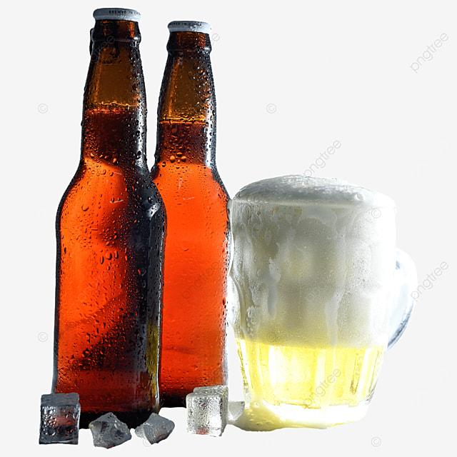 glass drink beer bottle beer