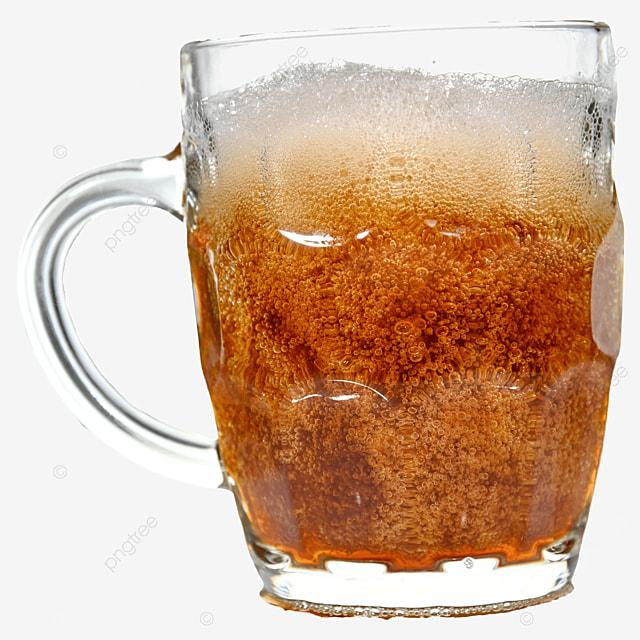 glass drink beer brown