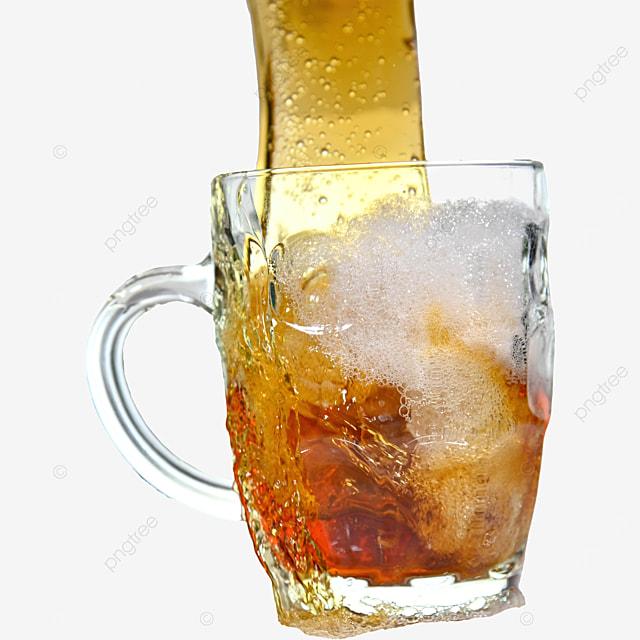 glass drink brown beer