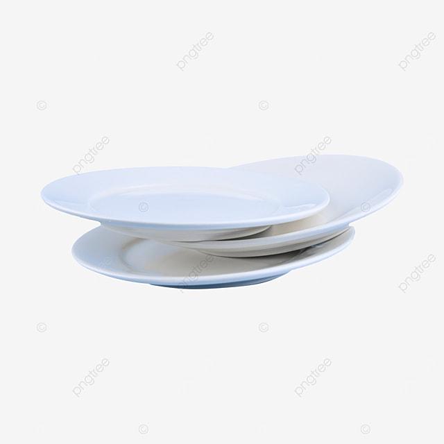 three white chinese tableware