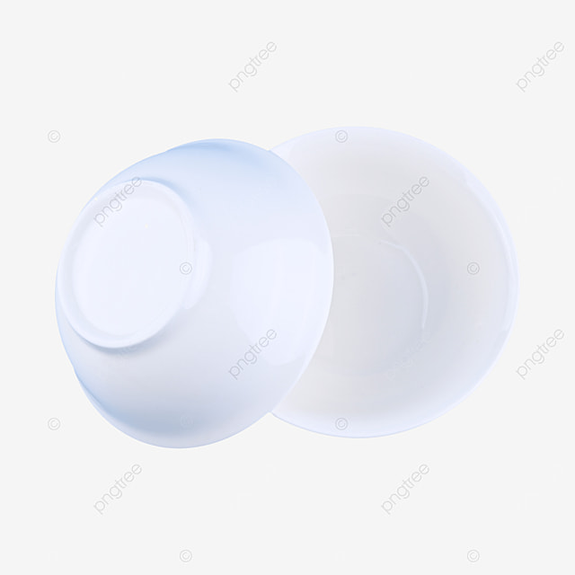 white empty clean container