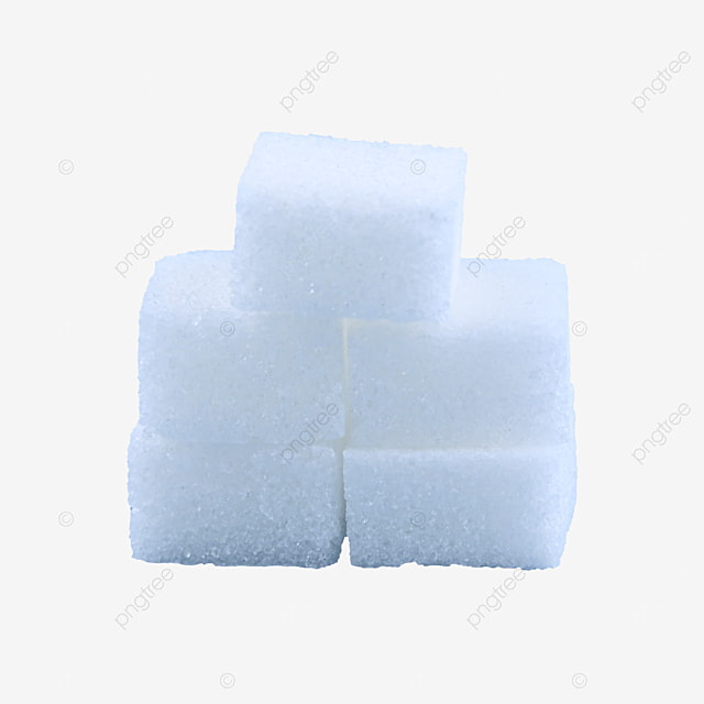 white stacked sugar cubes