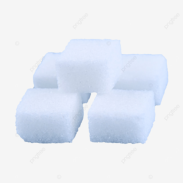 white stacked sugar cubic combination