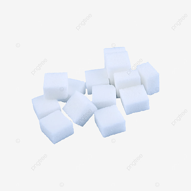 white sugar cube placement combination
