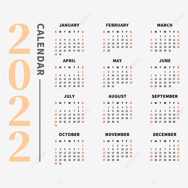 Calendrier 2022 Png 2022 Calendrier 2022 Calendrier, 2022 Jours, Calendrier, Mois PNG