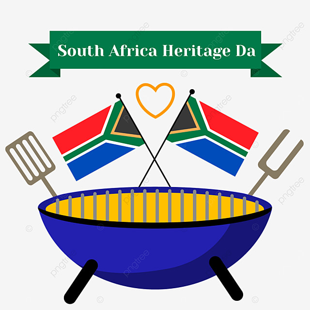 south africa heritage day blue object