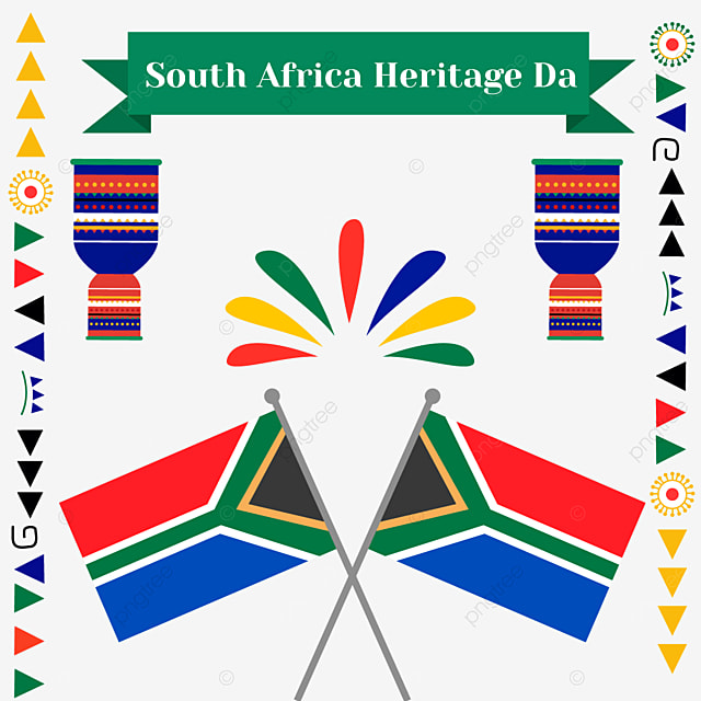 south africa heritage day color flag