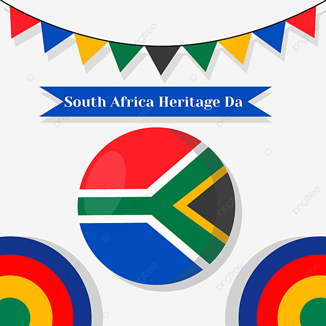 south africa heritage day flag