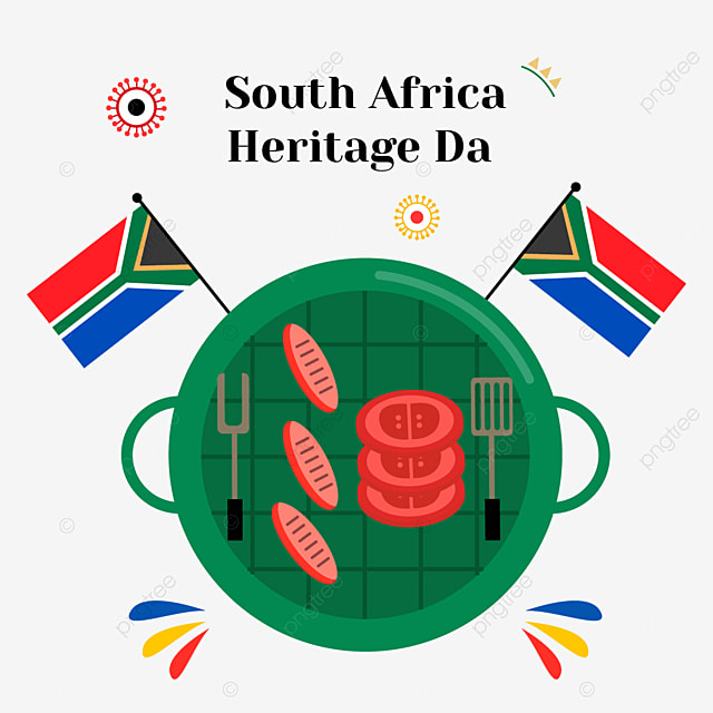 south africa heritage day green object