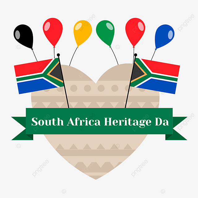 south africa heritage day love balloon