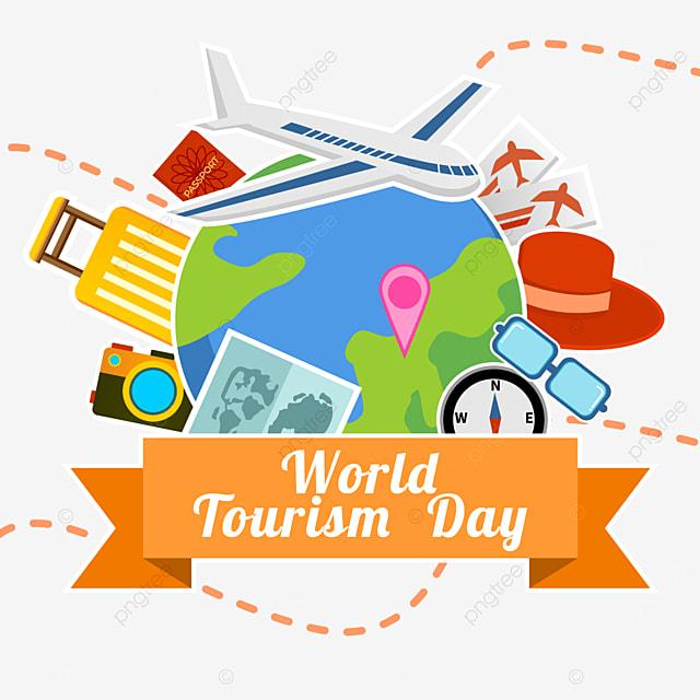 world tourism day color beautiful pattern