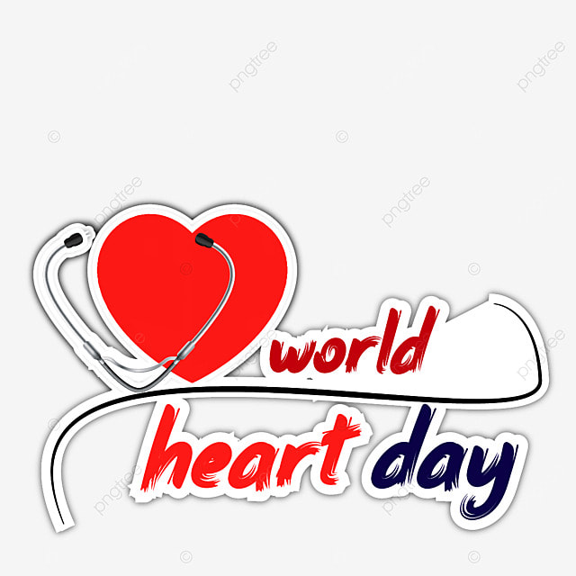 stethoscope world heart day element vector