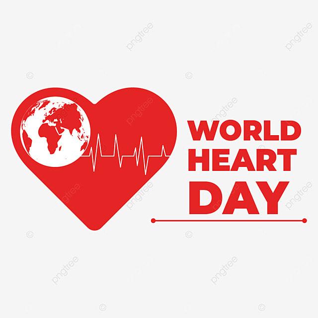 world heart day illustration