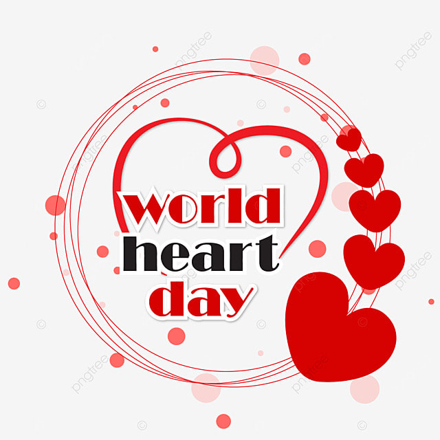 world heart day love stethoscope vector design