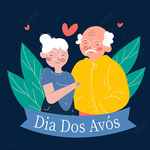 supporting each other on brazilian grandparents day