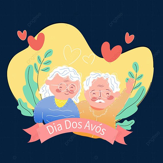 yellow brazilian grandparents day