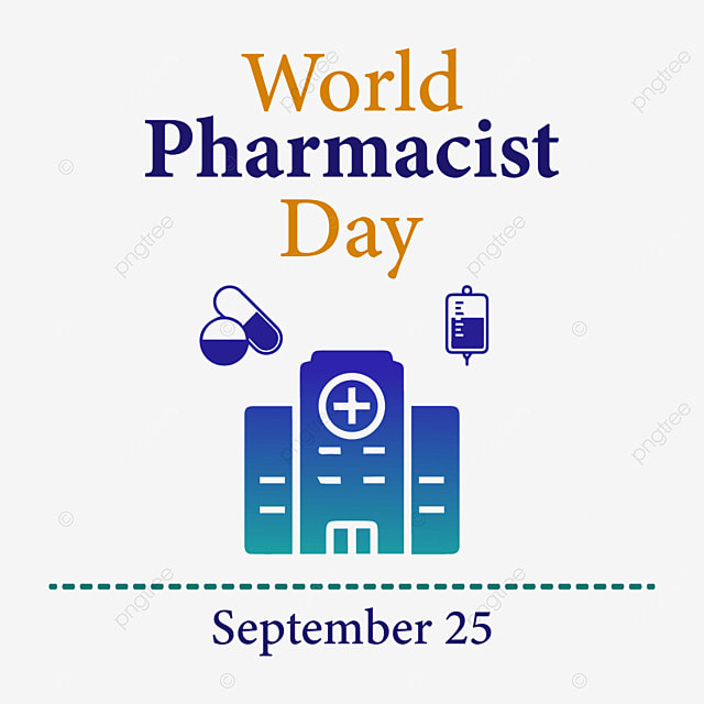 world pharmacist day with designs