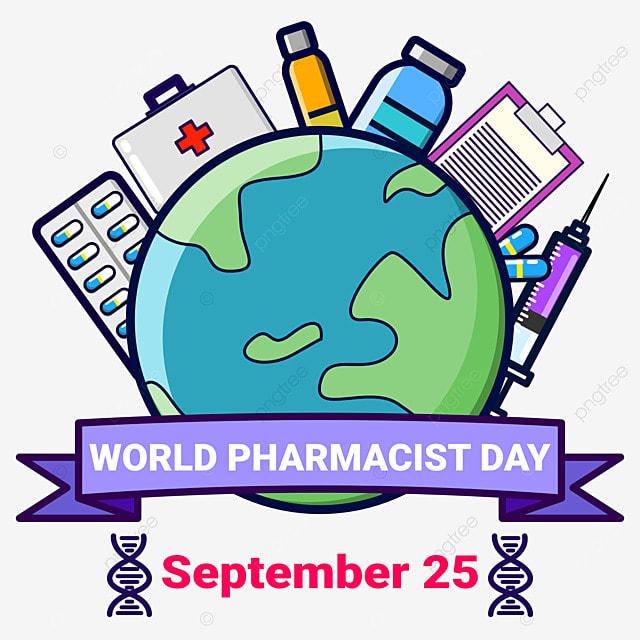 september 25 world pharmacist day illustration