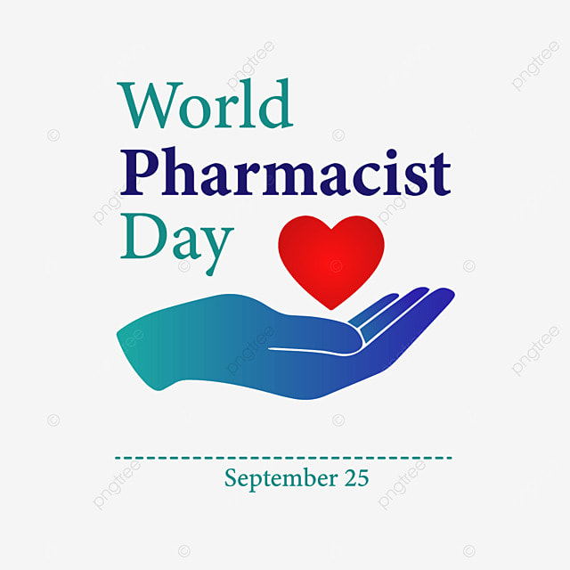 hand love with world pharmacist day