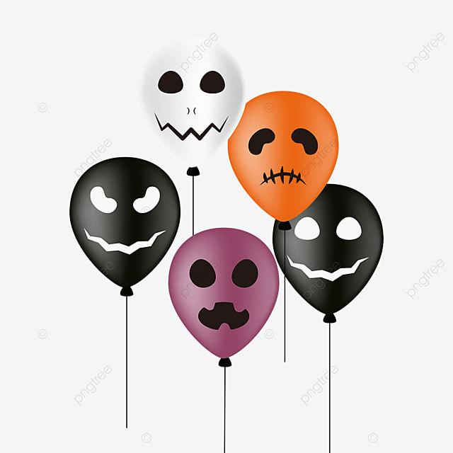 cartoon halloween monster balloon