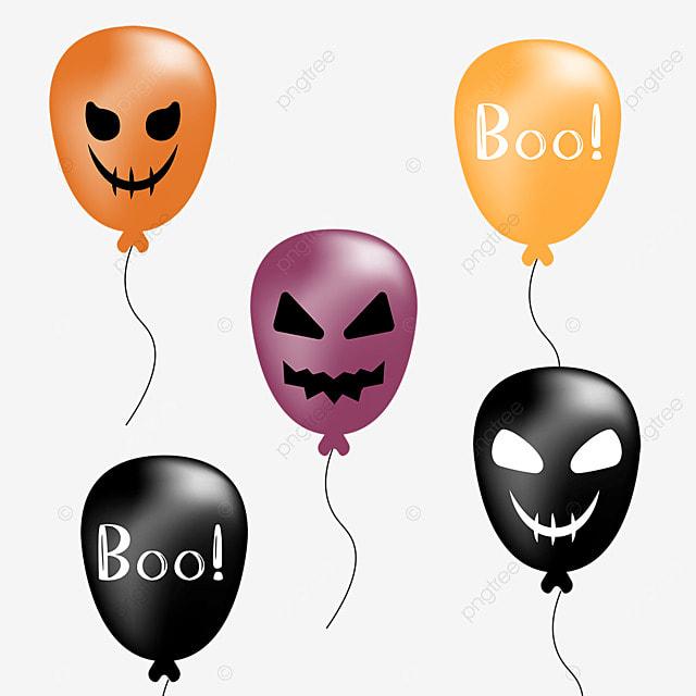 cartoon holiday halloween party monster balloon