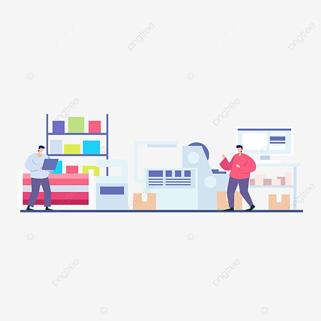 3d printing technology printing machinery illustration