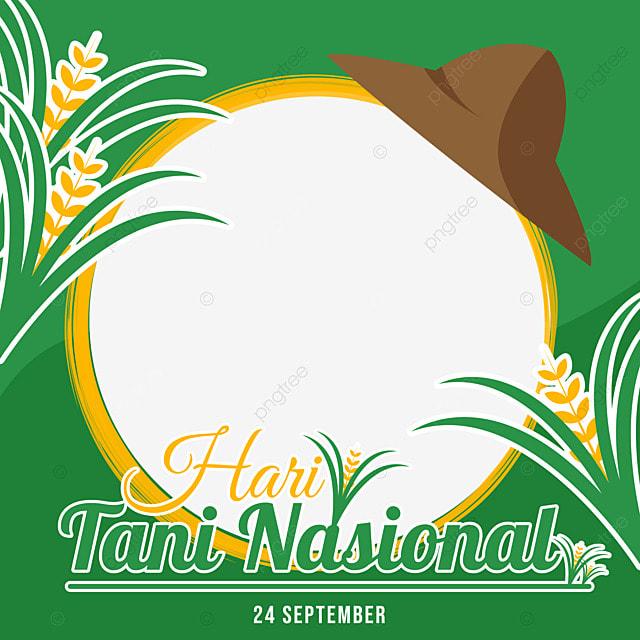 twibbon national farmers day with farmer hat