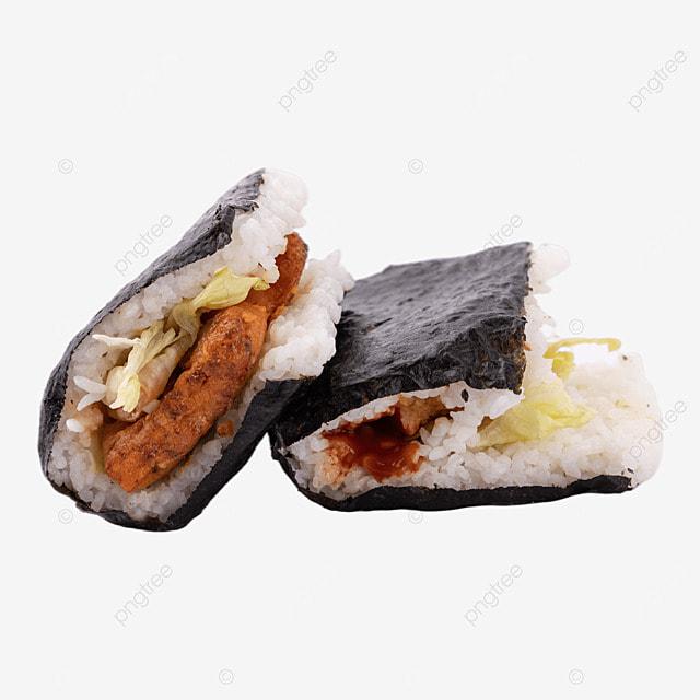 rice ball fast food still life sushi food