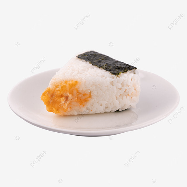 rice ball meat floss fast food japanese culture