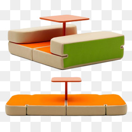 faltbare sofafaltbare sofa der stuhl der tisch die multifunktionale mobel png und psd
