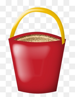 Sand Bucket Clipart PNG Image And
