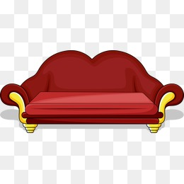 Red Sofa Clipart Png Vectors Psd And Clipart For Free Download