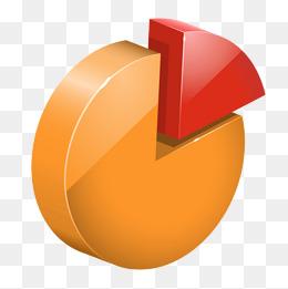 gelbes kuchendesign logos, kuchen statistik. png, vektoren, clipart und psd zum kostenlosen, Design ideen