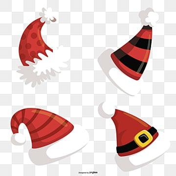 Il Cappello Di Babbo Natale Del Vettore Png Vettori Psd E Clipart