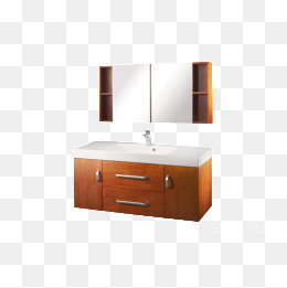 wooden bathroom cabinet, Bathroom Clipart, Bathroom Cabinet, Product Kind PNG Image and Clipart