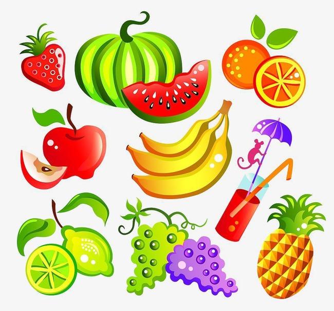 3d Gambar Bahan Tangan Bahan Dicat Gambar Kartun Makanan Vektor