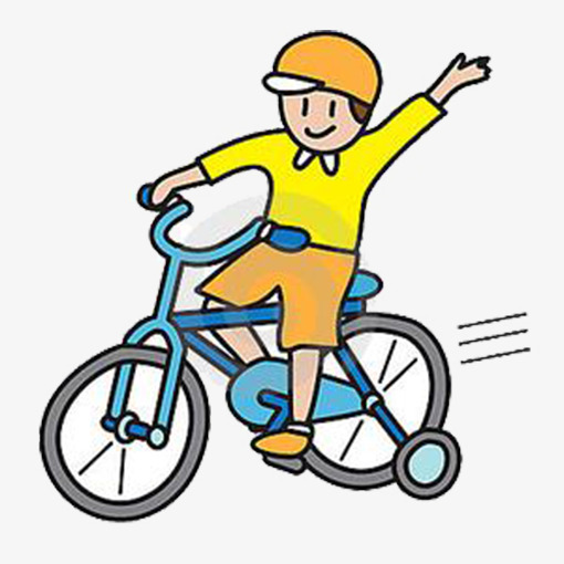Cartoon Boy, Bicycle, Cartoon, Lovely PNG Image and ...